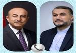 Iranian, Turkish FMs hold extensive talks on phone
