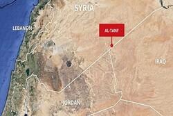 شام کے التنف فوجی اڈے پر امریکی اور برطانوی فوجیوں پر خوف و ہراس طاری