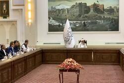 کابل میں  پاکستانی وزیر خارجہ کی طالبان کے عبوری وزیراعظم  سے ملاقات