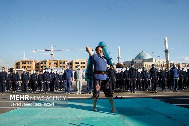 مراسم صبحگاه ورزشی دانشگاههای نیروهای مسلح