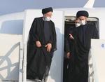 ایرانی صدر سید ابراہیم رئیسی صوبائي دورے پر  اردبیل پہنچ گئے