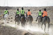 Endurance horse racing in Isfahan