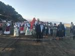 عروسی سنتی در افتتاحیه مسابقات چوگان ساحلی
