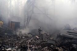 روسيا.. قتلى وجرحى جراء انفجار وحريق في مصنع بمقاطعة ريازان