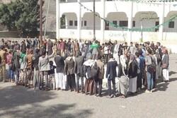 یمنی ها از پیشروی کمیته های مردمی در استان مارب حمایت کردند