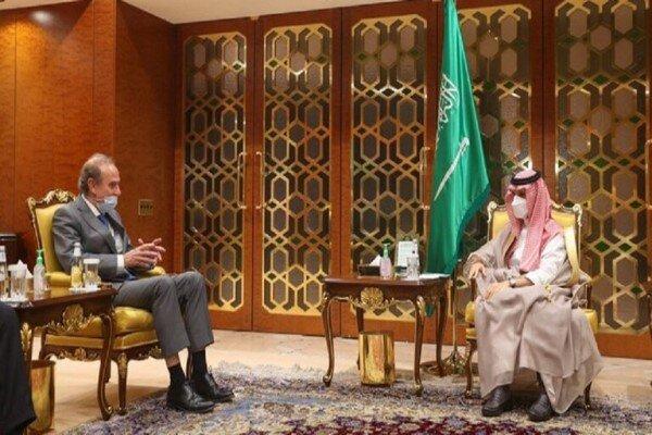وزیر خارجه سعودی با انریکه مورا درباره برجام رایزنی کرد