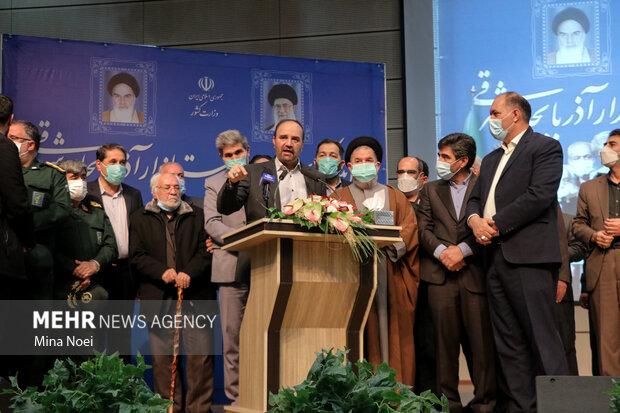 مراسم معارفه استاندار جدید آذربایجان شرقی