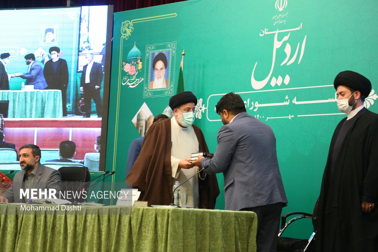 نشست خبری و جلسه شورای اداری استان اردبیل با حضور رئیس جمهور