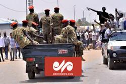 Sudan'daki askeri darbe girişiminden görüntüler