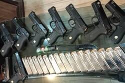 انهدام باند قاچاق سلاح معروف به«علی بلژیکی» در فارس