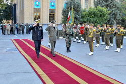 Pakistani military delegation's visit to Imam Ali Uni.