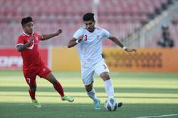 تیم فوتبال امید ایران و نپال