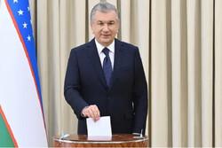 میرضیایف با کسب ۸۰ درصد آراء پیشتاز انتخابات ریاست جمهوری ازبکستان است