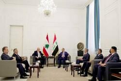 رایزنی نخست وزیر عراق با همتای لبنانی