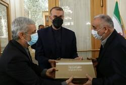 آیین معارفه نماینده ویژه رئیسجمهور در امور افغانستان برگزار شد