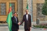 Iranian, Turkmen FMs hold meeting in Tehran