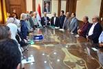 ايران وسوريا توقعان اتفاق لتشفيل محطة كهرباء محردة السورية