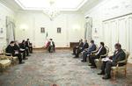 Cumhurbaşkanı Reisi, Türkmen Dışişleri Bakanı'nı kabul etti