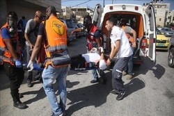 Zionist settler runs over two Palestinians with car in WB