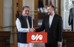 Emir Abdullahiyan, Tahran'da Pakistanlı mevkidaşı ile bir araya geldi