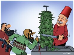 لیر ترکیه کباب شد!