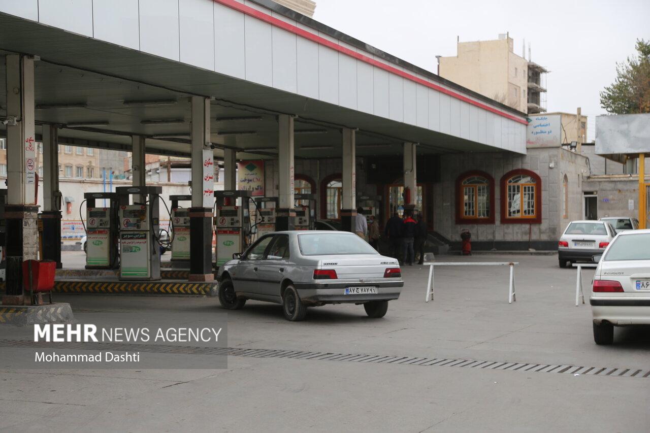 فعالیت ۴۳ درصدی جایگاههای عرضه سوخت در کرمانشاه