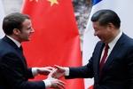 Macron, Çin Devlet Başkanı Şi ile İran'ı görüştü