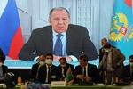 Lavrov, Tahran'daki Afganistan konulu toplantıya online olarak katıldı