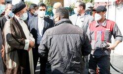 بازدید میدانی رئیسجمهور از جایگاه سوخت میدان فردوسی