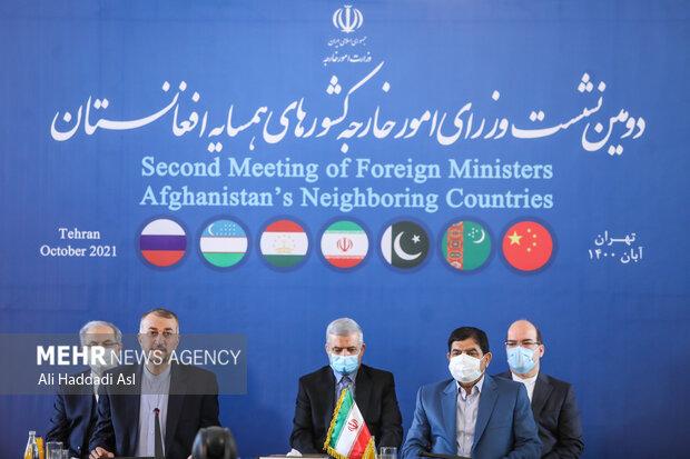 دومین نشست وزرای امور خارجه کشورهای همسایه افغانستان