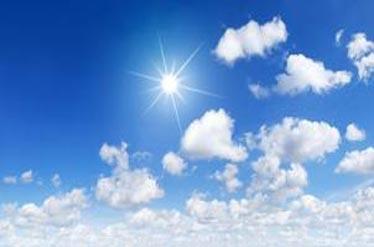 آسمان کشور در بیشتر نقاط صاف است/ورود سامانه بارشی از شمال غرب