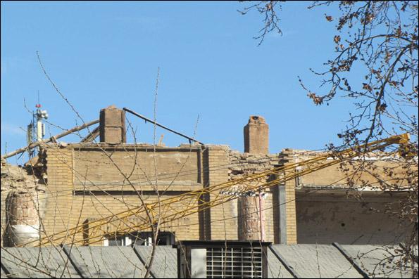 روزشمار تخریب خانه عامری های تهران/ غلبه مجتمع تجاری بر خانه تاریخی