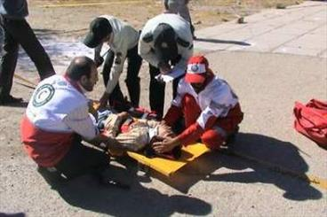 تصادفات جادهای اردبیل دو فوتی سر صحنه داشت/آمادهباش ۶۸ امدادگر