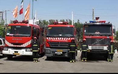 ایستگاه های آتش نشانی زاهدان به حالت آماده باش درآمدند