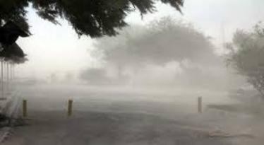 تندباد و گرد و غبار در اردبیل