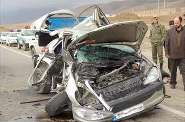 فارس همچنان رتبه اول کشته های تصادفات رانندگی را دارد