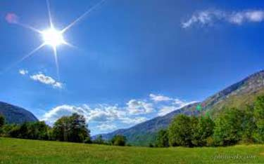 افزایش ۸ درجه ای دما در گلستان/ورود سامانه بارشی از هفته آینده