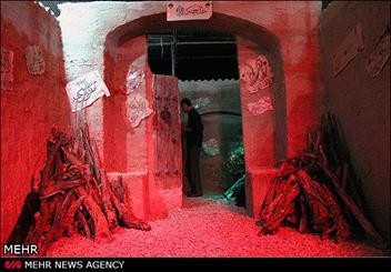 سومین نمایشگاه کوچههای بنی هاشم در قم برپا شد/ ساخت ماکت بقیع قبل از تخریب