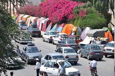 چشمه زنه هفشجان در ایام نوروز 10 هزار بازدید کننده داشته است
