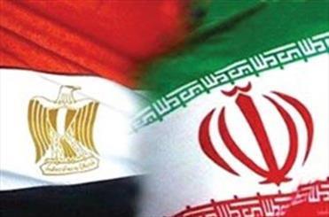 دانشجویان ایرانی به حافظ منافع مصر در تهران گل هدیه دادند