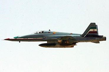 یک فروند هواپیمای اف-5 در آبدانان ایلام سقوط کرد