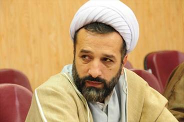 حجتالاسلام غلامرضا زاهدی رئیس اداره تبلیغات اسلامی شهرستان مهدیشهر