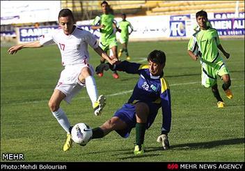 دیدار تیمهای فوتبال نونهالان ایران و پاکستان