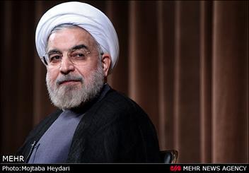 حسن روحانی برای ثبت نام در انتخابات وارد ستاد انتخابات کشور شد
