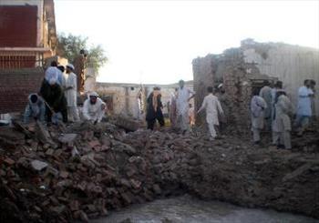 12 کشته و دهها زخمی در انفجار یک مسجد در پیشاور