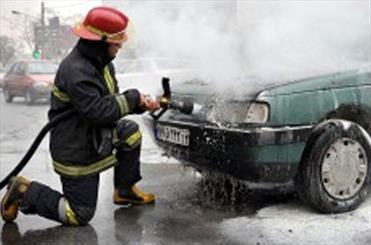 9 سرنشین خودروی پژو در آزادراه کرج – قزوین در آتش سوختند