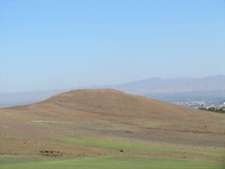 پیشروی زمین های کشاورزی به قلعه شاه طهماسب در غفلت منابع طبیعی و میراث فرهنگی