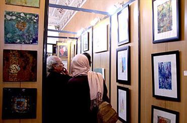 تلالو ماه روزهداری در نگارخانههای تهران