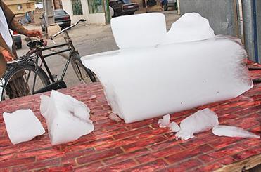نیازمند احداث کارخانه تولید یخ در کاظمین هستیم