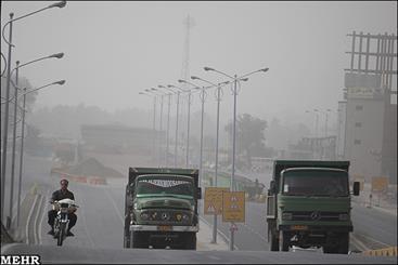 گرد و غبار کرمان